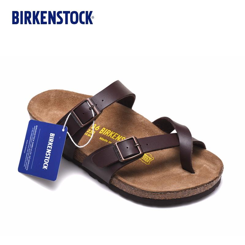 2979111c183e Birkenstock Mayari Birko-Flor Nubuck Soft Leather Sandals Mocca Colour