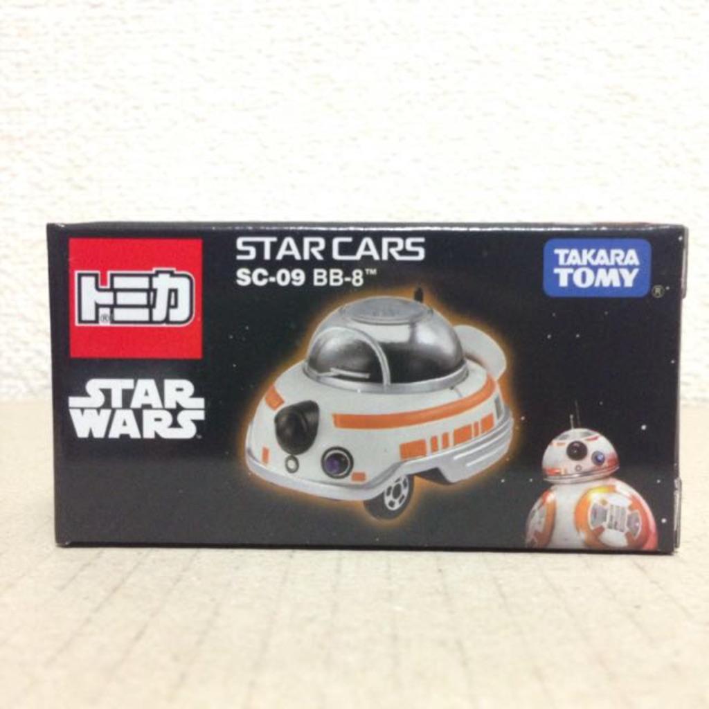 TAKARA Tomy Tomica SC-09 Disney Star Wars Star Cars BB-8 BB8 New Japan