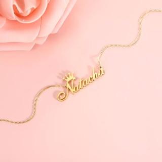 Name Necklace Shopee Singapore