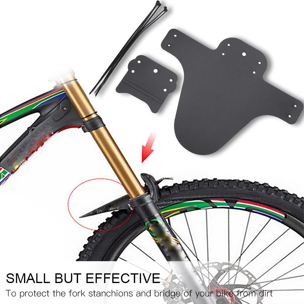 1 Pair Bike MTB Front Fender Mudguard Set Mountain Bicycle Road Cycling Tool