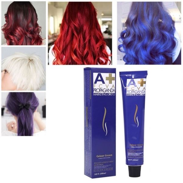 100ml Hair Dye Cream Dye Mud Hair Color Wax Hairstyle Styling Diy Hair Coloring