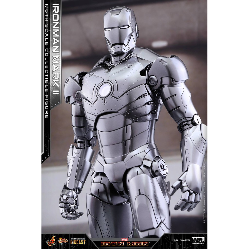 Hot Toys Mms431d20 Iron Man 1 6th Scale Mark Ii Shopee Singapore 25 Striker