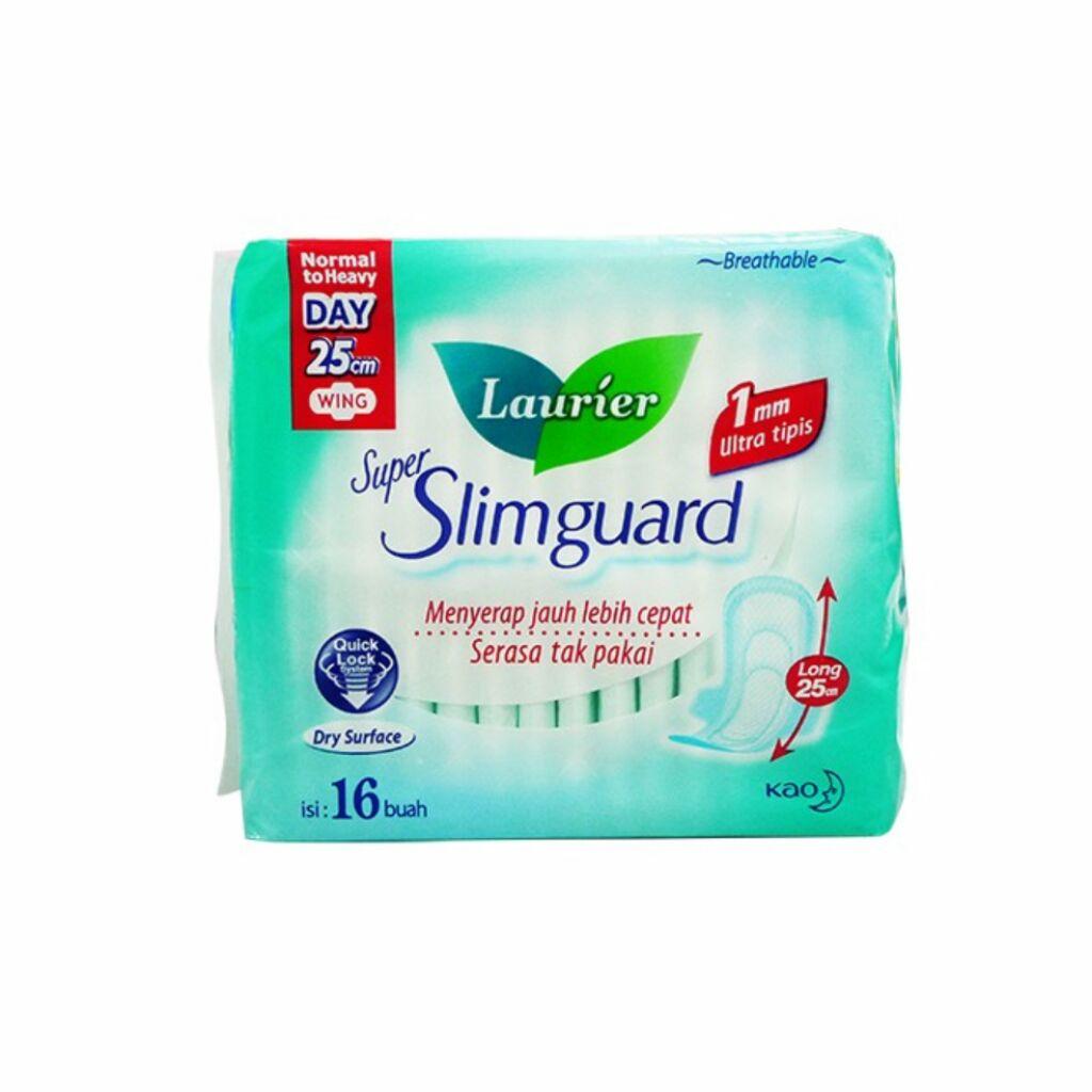 Laurier Super Slim Guard Day 225cm Gather 18s Shopee Singapore Slimguard Night 14s