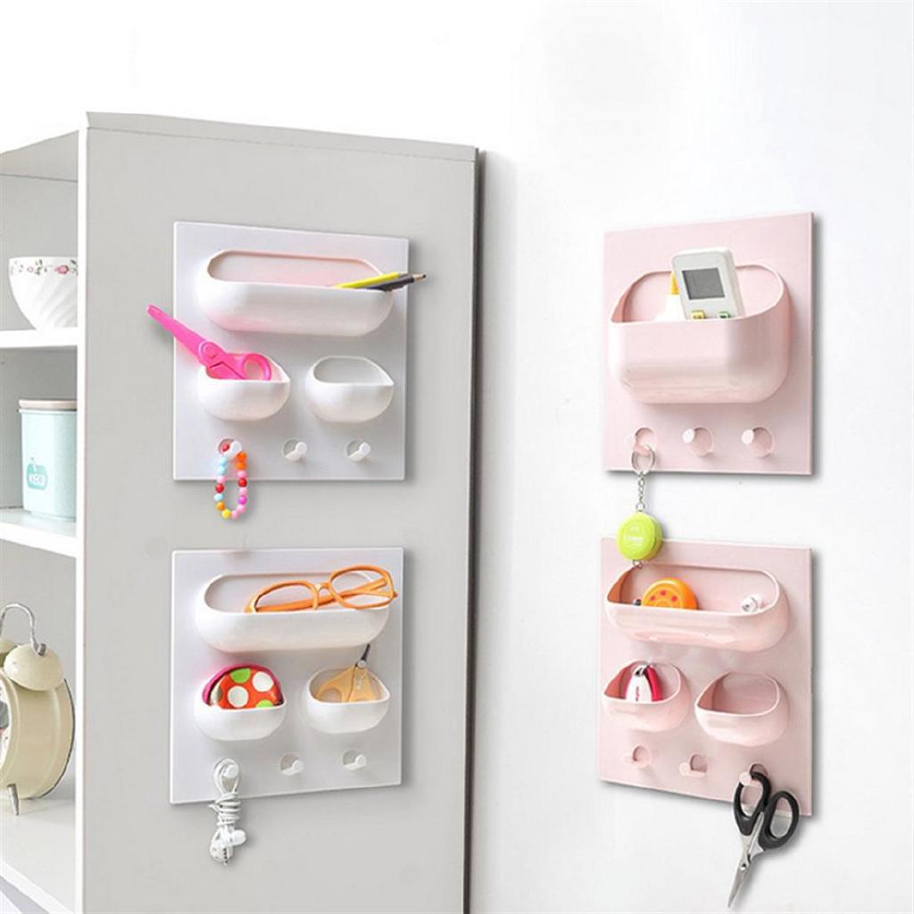 Multifunctional Storage Rack Holder Shelf Organizer Shelf Adhesive Kitchen