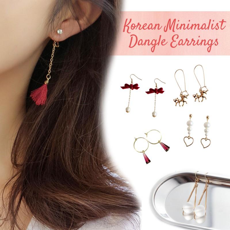 0e9248857cc04 Korean Minimalist Tassel/Dangle Earrings