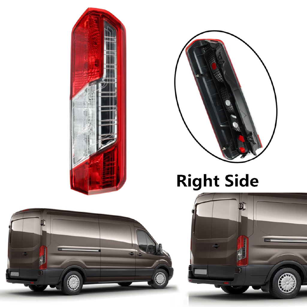 Ford Transit Mk8 Rear Tail Light Back Lamp Lens Right O//S Driver Side 2014 On