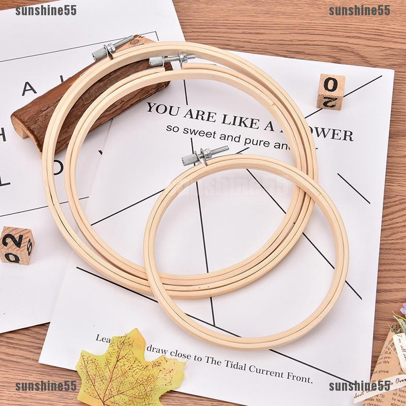 20CM Embroidery Hoops Wood Rings for Embroidery Frame Sewing Accessorie for Sewing Tambour Sewing Tools
