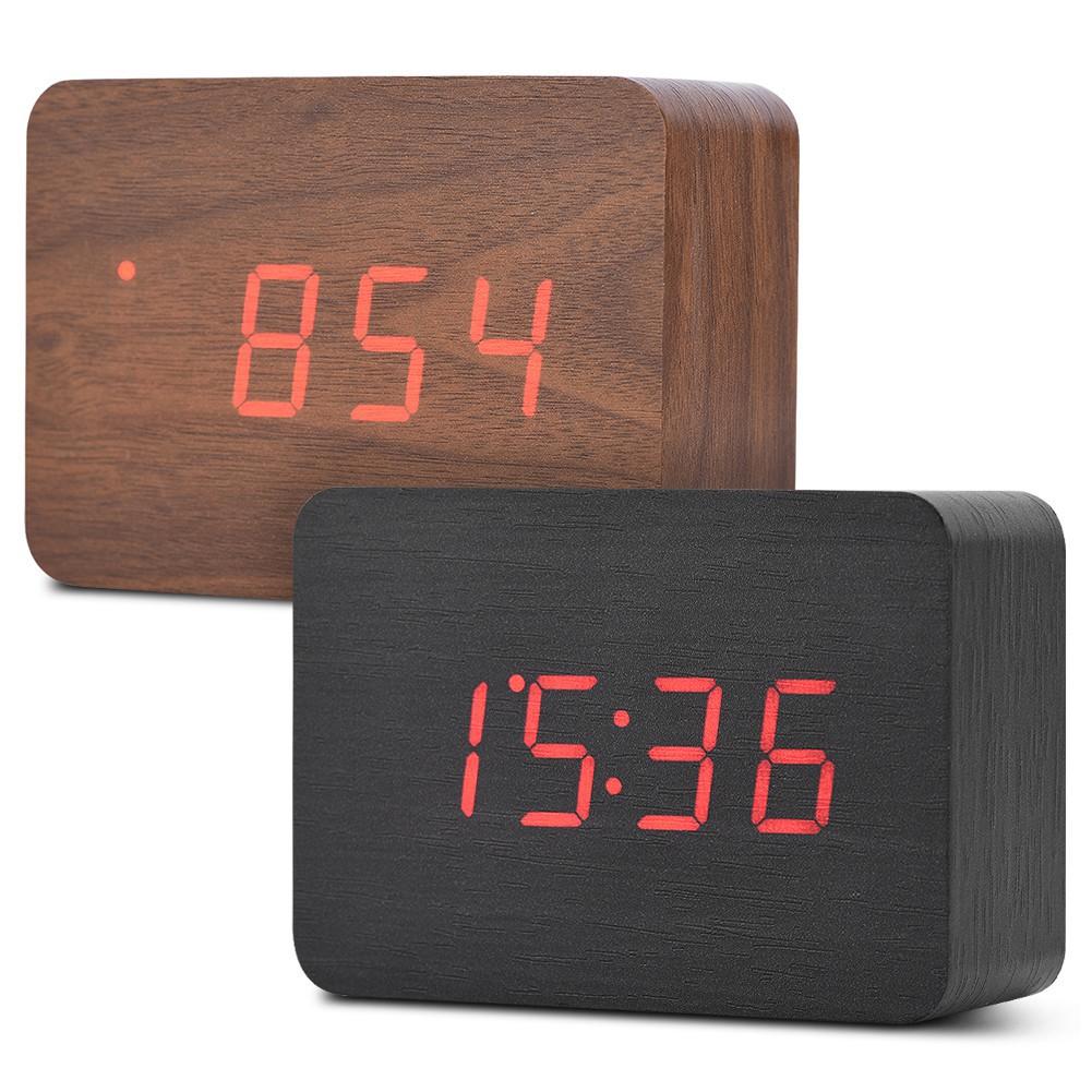 Tools Digoo Dg Dm2 Digital Led Adjustable Triple Color Display Mirror Clock Snooze Fuction Night Mode Table Desktop Alarm Clock Measurement & Analysis Instruments
