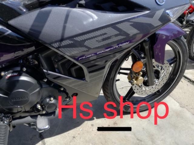 Y15 Y15zr V1 Body Sticker Stripe 2 Purple Color Made In Shopee Singapore