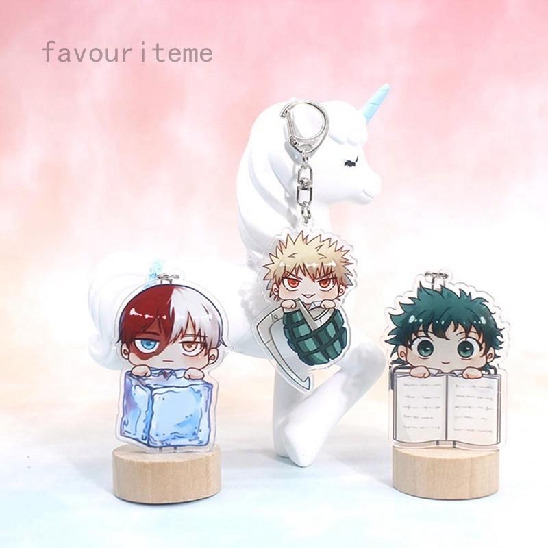 My Hero Academia Acrylic Figure Keychain keyring pendant Anime Gifts