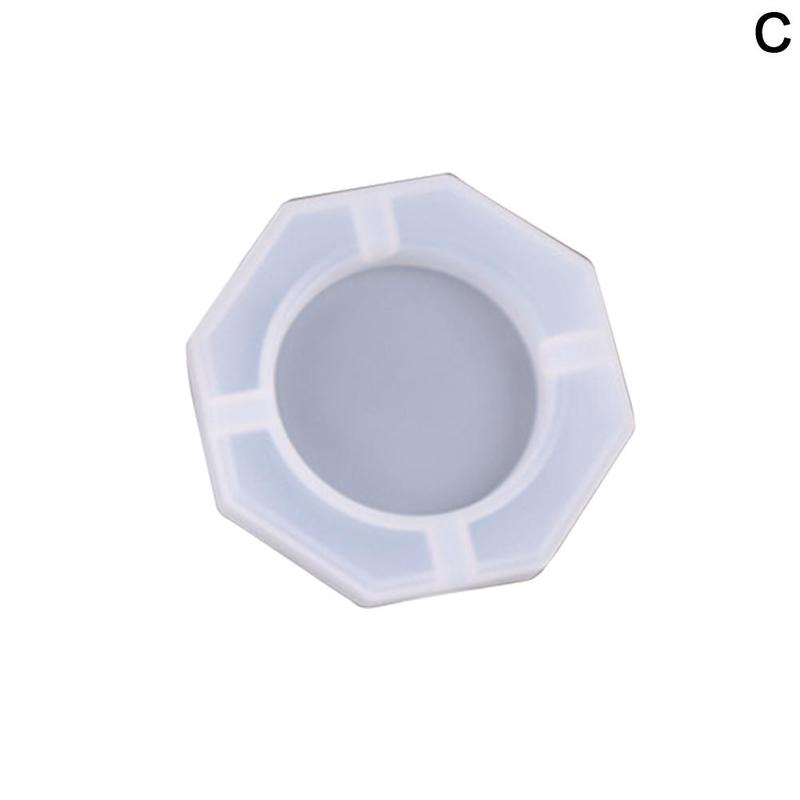 1pc Ashtray Craft Diy Transparent Uv Resin Epoxy Silicone Combination Molds For Diy Making Finding Accessories Jewelry Shopee Singapore