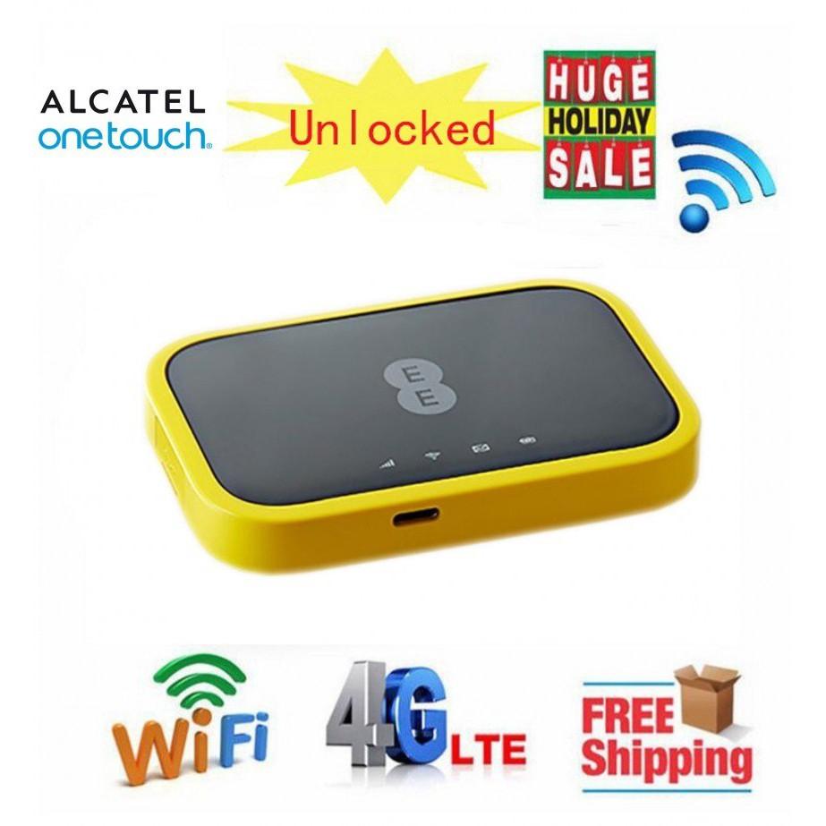 Unlocked 4G EE WIFI MINI CAT7 WIFI ROUTER Alcatel EE70 4G Portable MIFI  Hotspot
