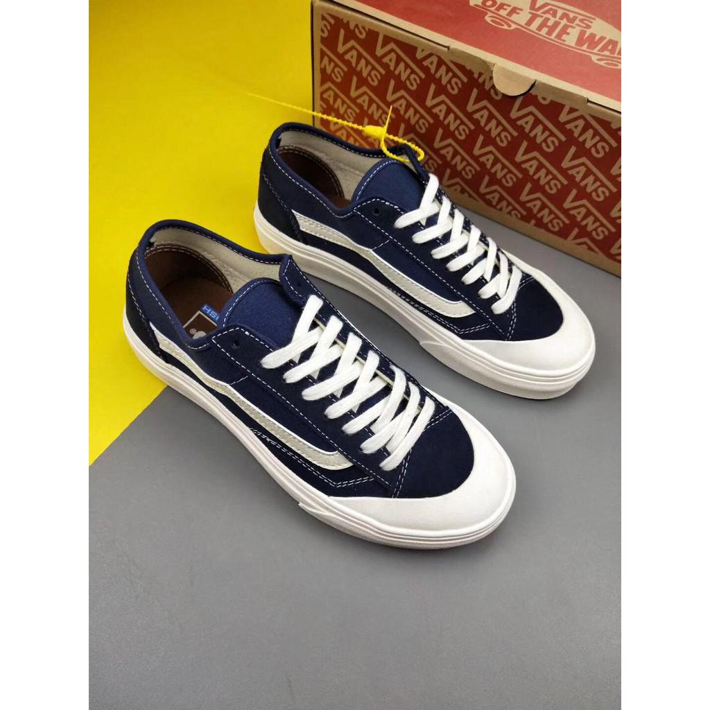 Vans Style 36 Decon SF Surf Blue Shoes with Low Helps