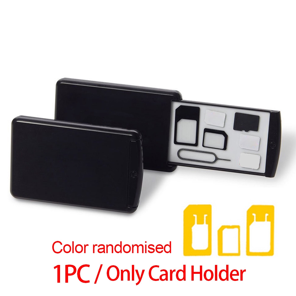 Plastic Store Pulling Type Lightweight Mini Safe Fitting SIM Card Adapter