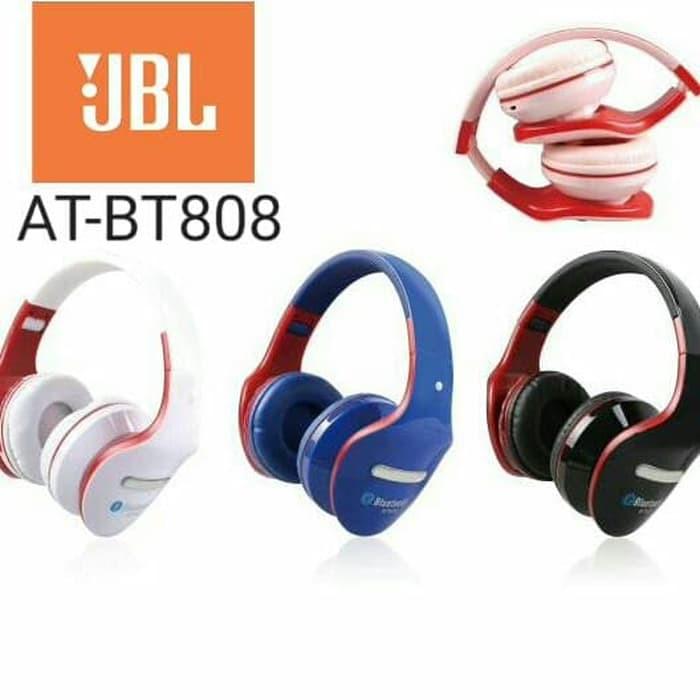 Earphone Headphone Headset Bluetooth Stereo Jbl At Bt808 Bt808 Shopee Singapore
