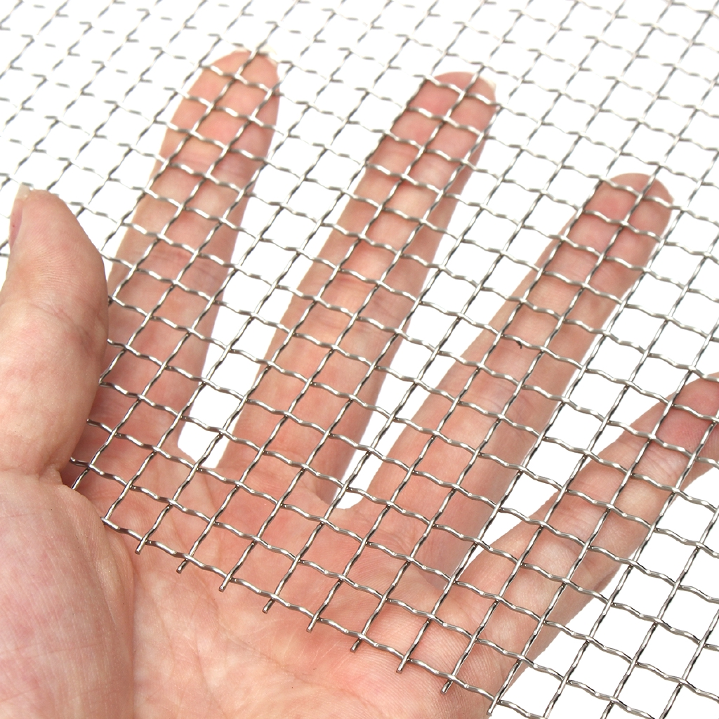Stainless Steel 304 Mesh #4 Filter Twill weave Wire Cloth Screen 12/'/'x12/'/'