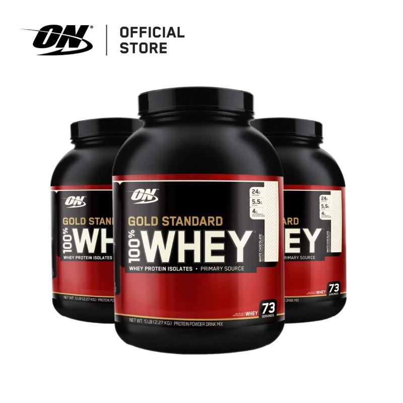 Optimum Nutrition Gold Standard Whey Protein(5 lbs) | Shopee Singapore
