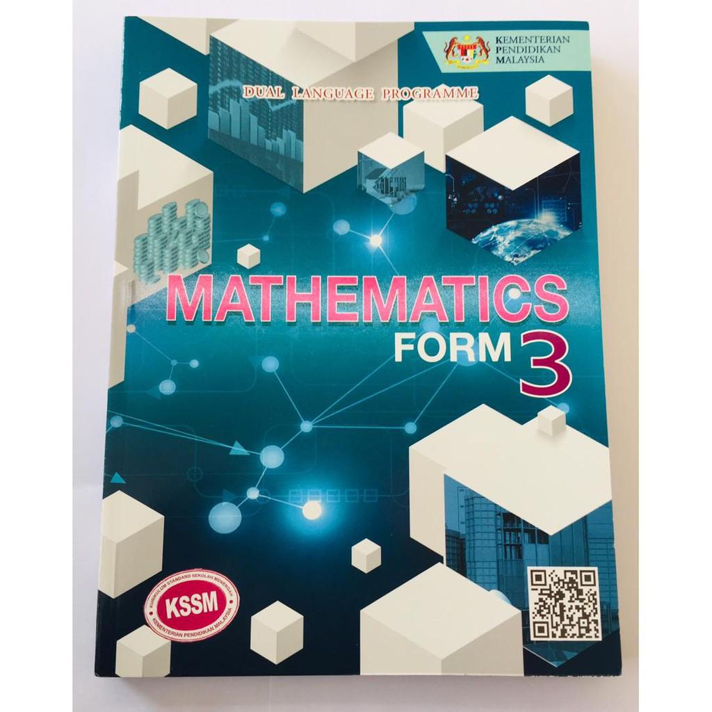 Textbook Mathematics Form 3 Dlp Shopee Singapore