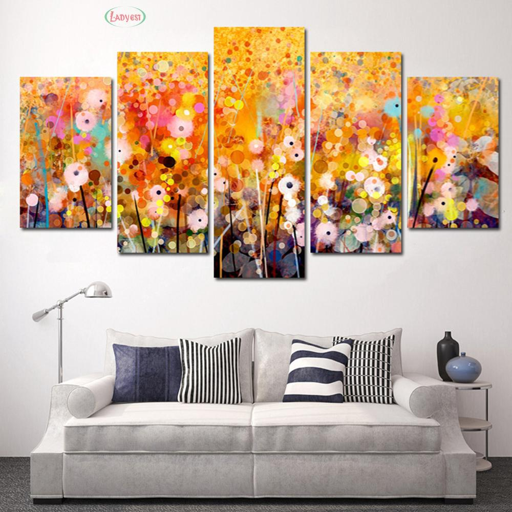 Canvas Oil Painting Background Posters