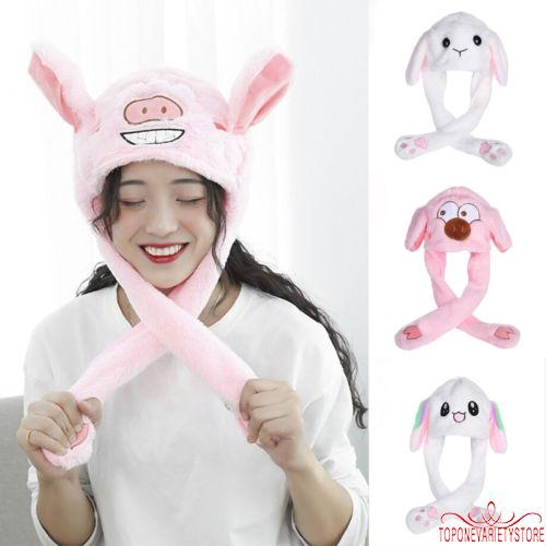 Easter Women Plush Long Bunny Ears Headband Cosplay Rabbit Dress Up