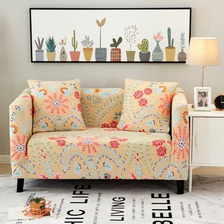 Beautiful Flowers Couch Sofa Covers Stretch Corner Sofa Slipcovers