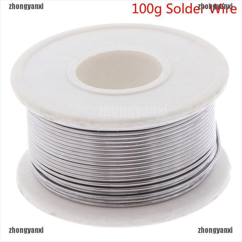 100g Lead-free Tin Solder Wire Spatter Less for Electronic Soldering Welding DIY