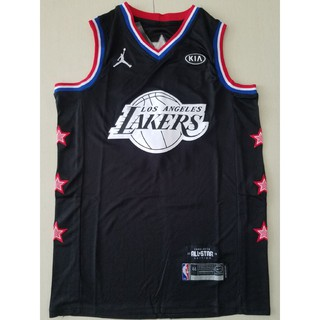 more photos b9a7a 81701 NBA Jersey Basketball Suit Lakers All-Star Black 23 James ...