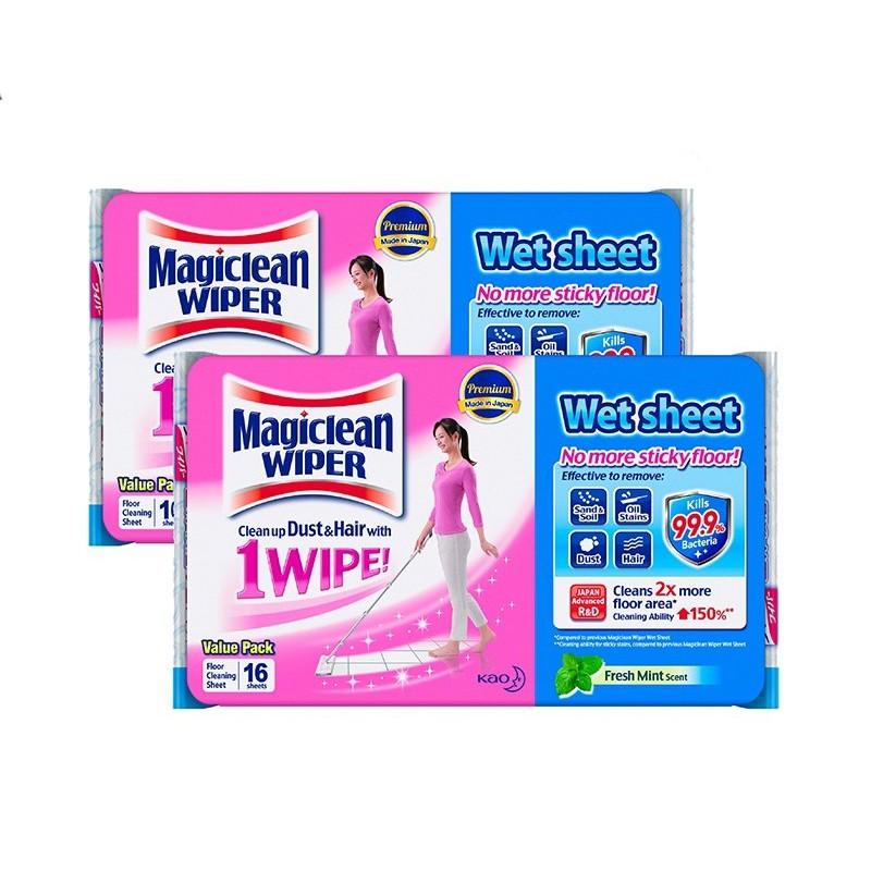 c61029022ea2 Magiclean Wiper Wet Sheet 16s (Set Of 2)