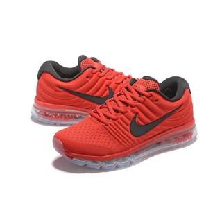 sale retailer 70821 d9ce9 Nike Air Max 2017 Running Shoes Red Black,Men Women Size 36-45   Shopee  Singapore