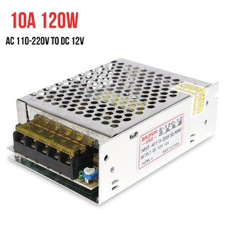 HOT SALE Power Supply Converter Module 120W AC 110V-220V to DC 12V Free Air  Convection