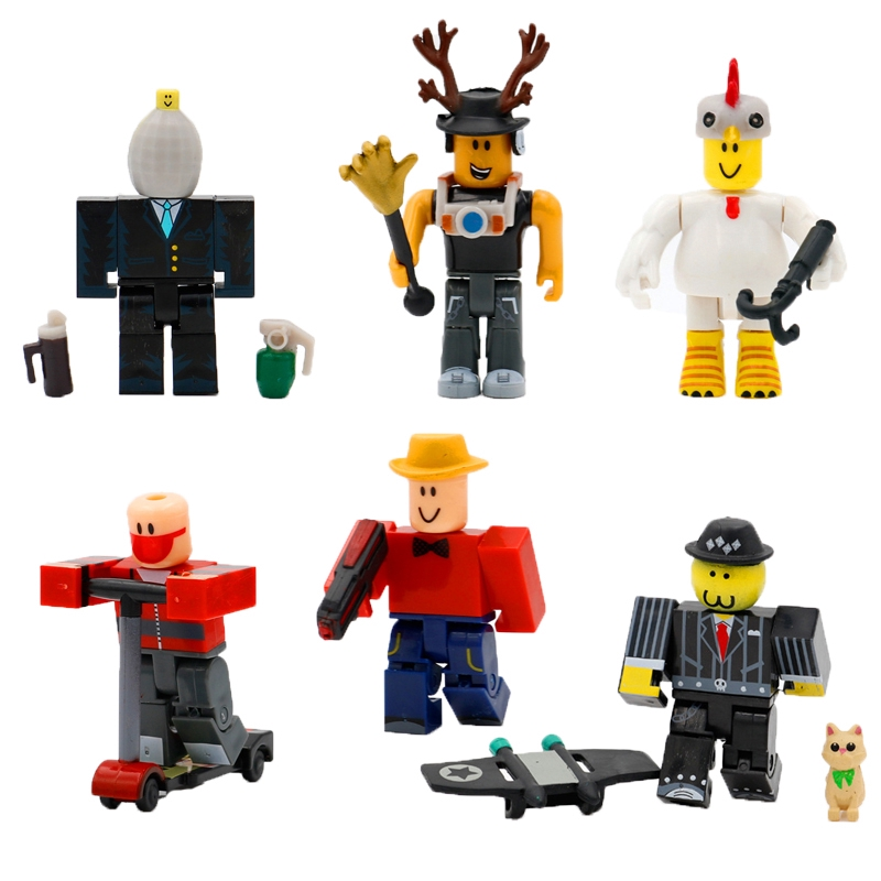 21//24pcs Roblox Zombie Attack Action Figures Playset Kids Birthday Xmas Toy Gift