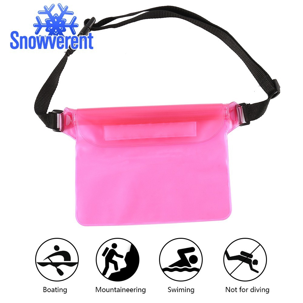 5f9674e1146 SN Ipow Waterproof Pouch Bag Case Waist Strap for Beach