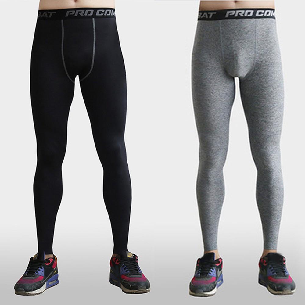1852b6272eee3 Mens Compression Thermal Base Layer Long Pants Leggings   Shopee Singapore
