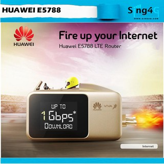 Huawei e5788 4G LTE 1Gbps Speed MIFI Portable Hotspot