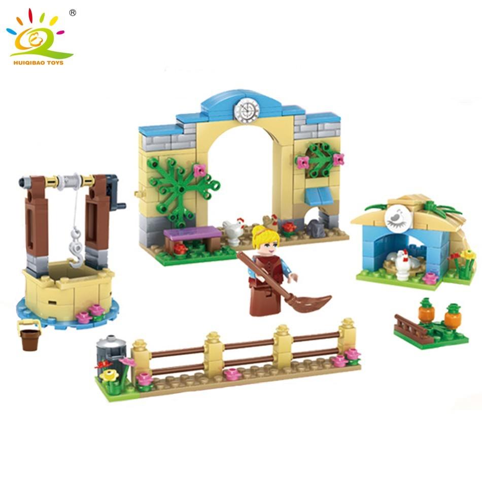 378pcs Toys Minecraft Figures Building Blocks 4 In 1 My World Garden Assembling Block Toy Educational Shopee Singapore