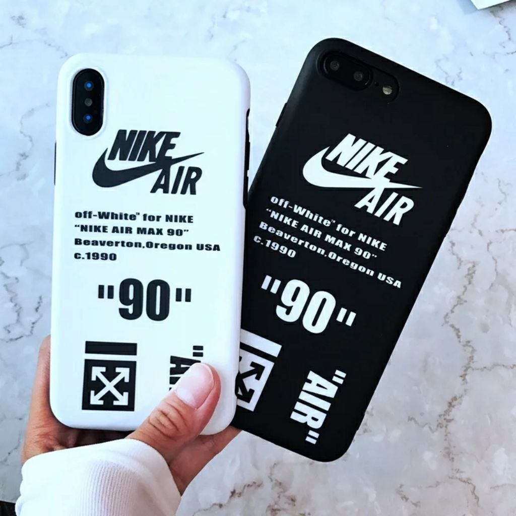 Nike off white iPhone 6 7 8 X XS Max XR Full cover case  6a496aafc