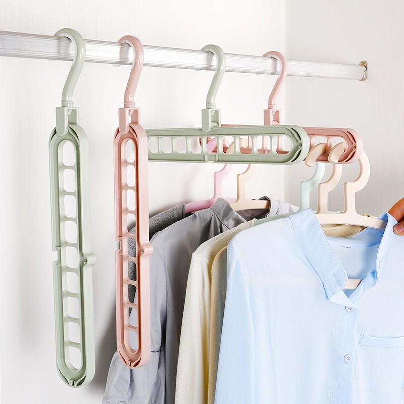 Antislip Household Closet Organizer Storage Rack Hanger Holder Clothes Hanger