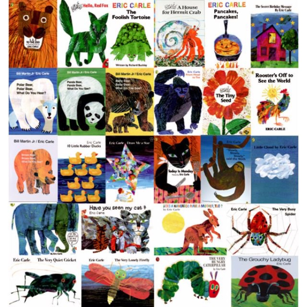 Eric carle paperback picture books suitable for kids age 2+ ...
