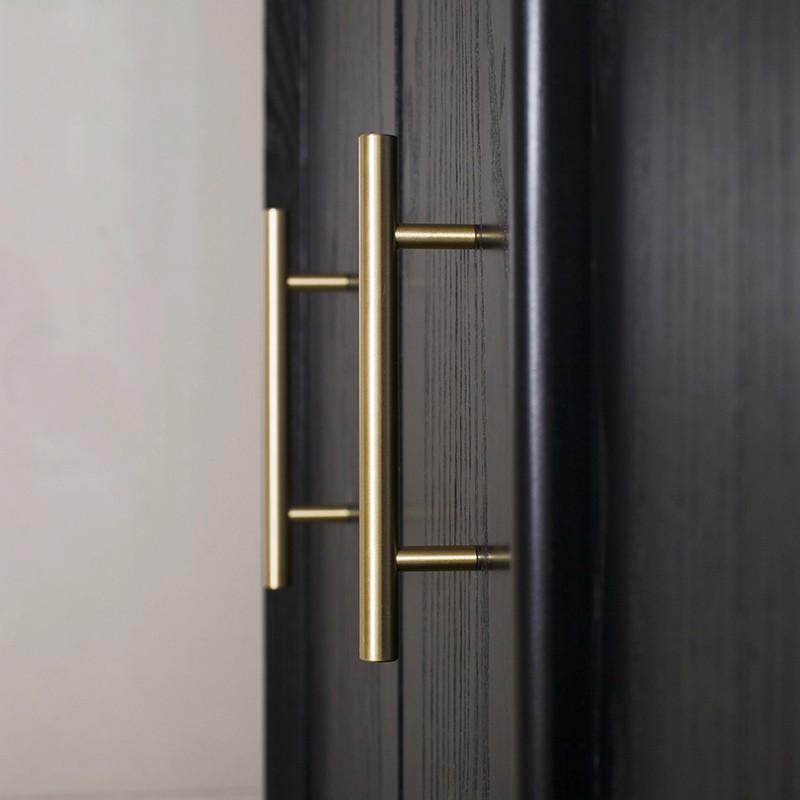 Gold Solid Br S European T Bar Handles Drawer Pulls