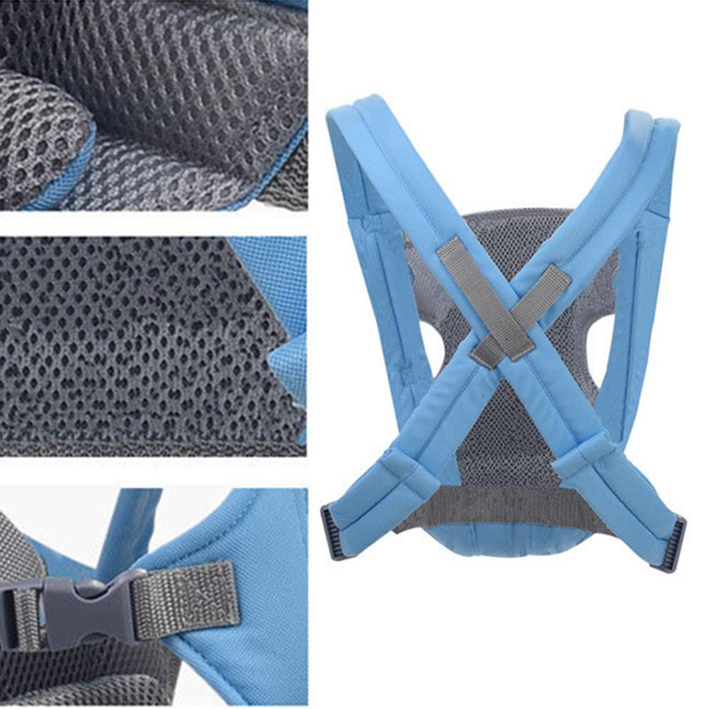 Baby Safety Carrier Infant Baby Kids Front and Back Carrier Backpack Newborn Hipseat Wrap Sling Bag