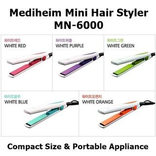 Mediheim LCH store Korean Portable Mini Hair Styler Flat