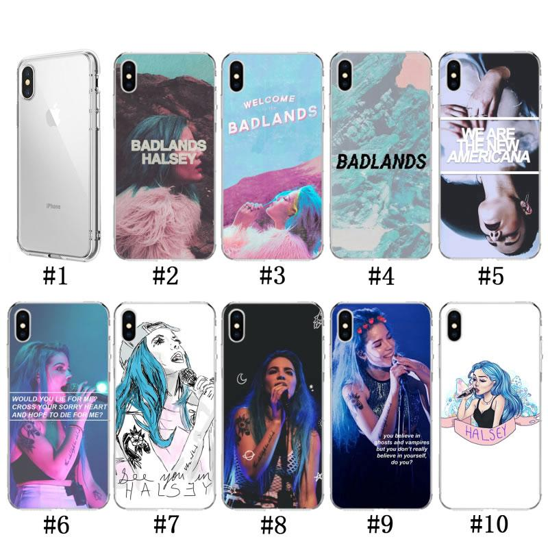 Halsey Colors Lyrics Badlands IphoneX/XS Xs Max Mobile Phone