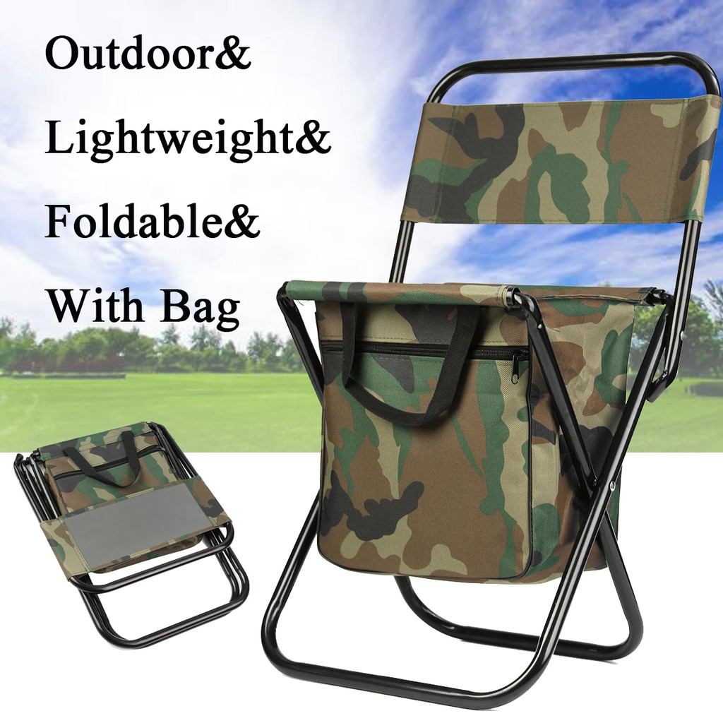Prime Portable Folding Chair Camping Fishing Hiking Stool Seat Bag Outdoor Travel Pdpeps Interior Chair Design Pdpepsorg