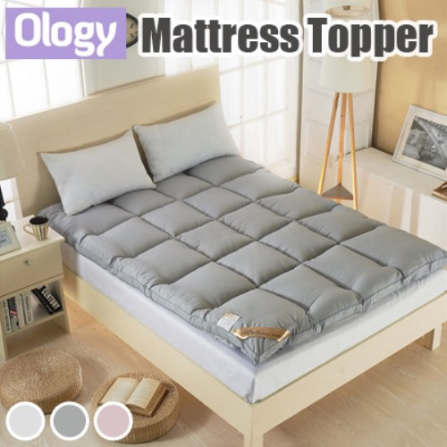 10CM Mattress Topper Protector Anti-bacterial Mat Bedding Set Blanket Bed  Sheet Anti Mite Living Room Topping Frame | Shopee Singapore