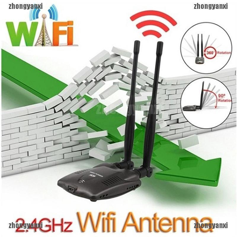 Password Crack Internet Long Range Dual Wifi Antenna USB Wifi Adapter Decoder SG
