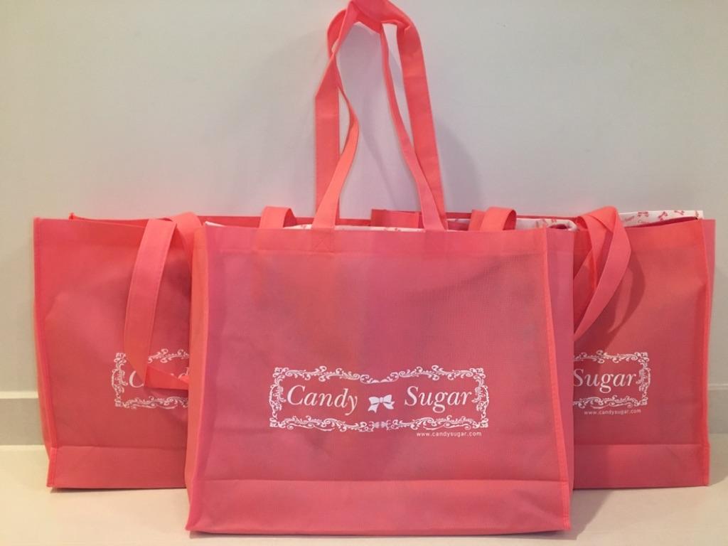 f956bdbfa Candy Sugar Nylon School Bag Ribbon Stitch Japan Japanese Uniform   Shopee  Singapore