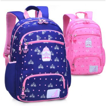 NEW Cartoon Frozen Pupil Students Girls Kids Book Bags Backpacks 6-12Years Old
