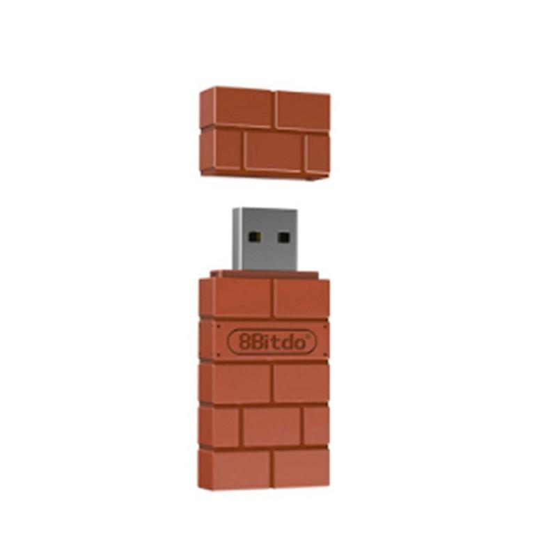 8Bitdo USB Wireless Bluetooth Adapter for Windows PC MAC Raspberry Pi  Switch NS