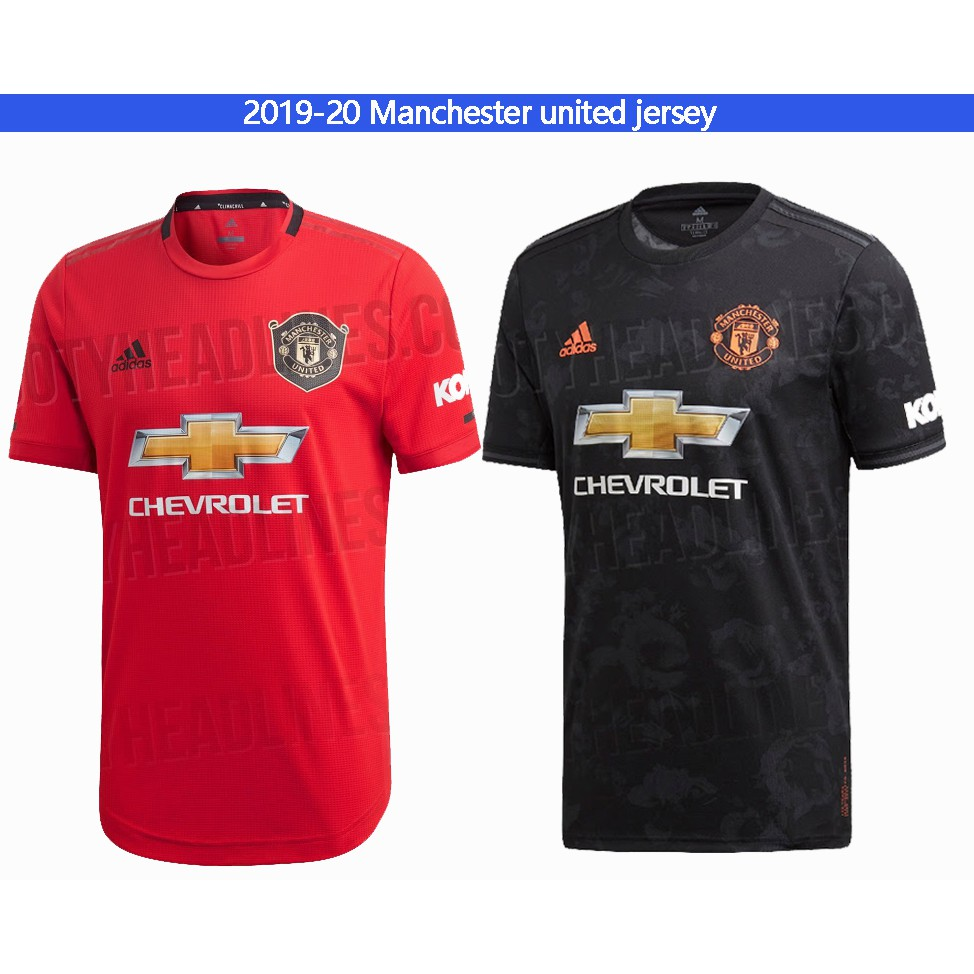 online store 655a6 2d157 1:1 Copy ori 2019/2020 Manchester united football soccer kit jersey top  quality