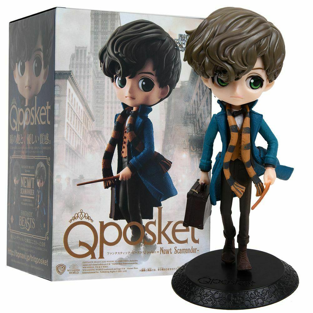 16cm Q posket Harry Potter Fantastic Beasts Newt Scamander PVC Figure in Box